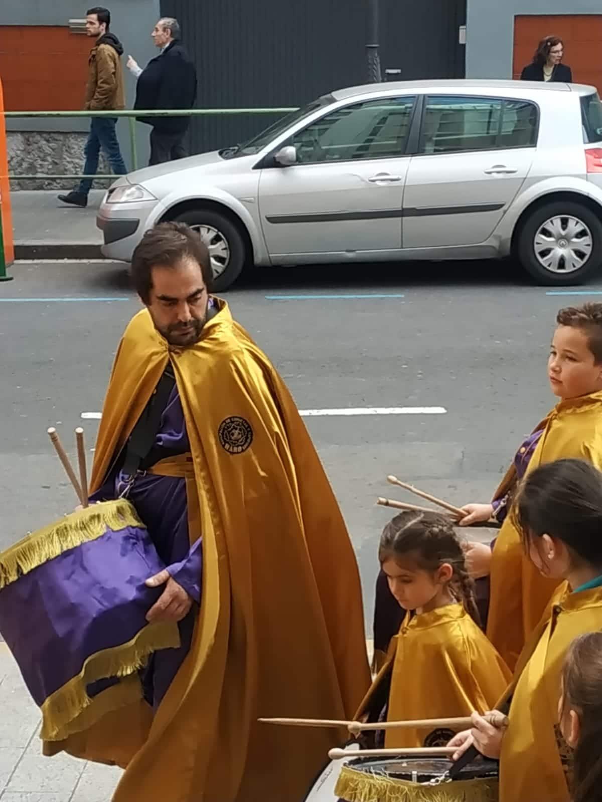 Las imágenes de la participación de la Agrupación de Cornetas y Tambores de Haro en la Exaltación de Clarines y Tambores de Bilbao 10