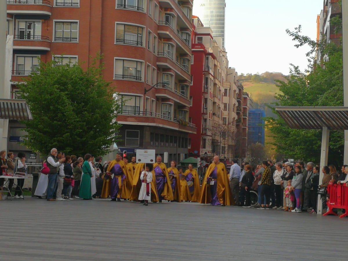 Las imágenes de la participación de la Agrupación de Cornetas y Tambores de Haro en la Exaltación de Clarines y Tambores de Bilbao 11