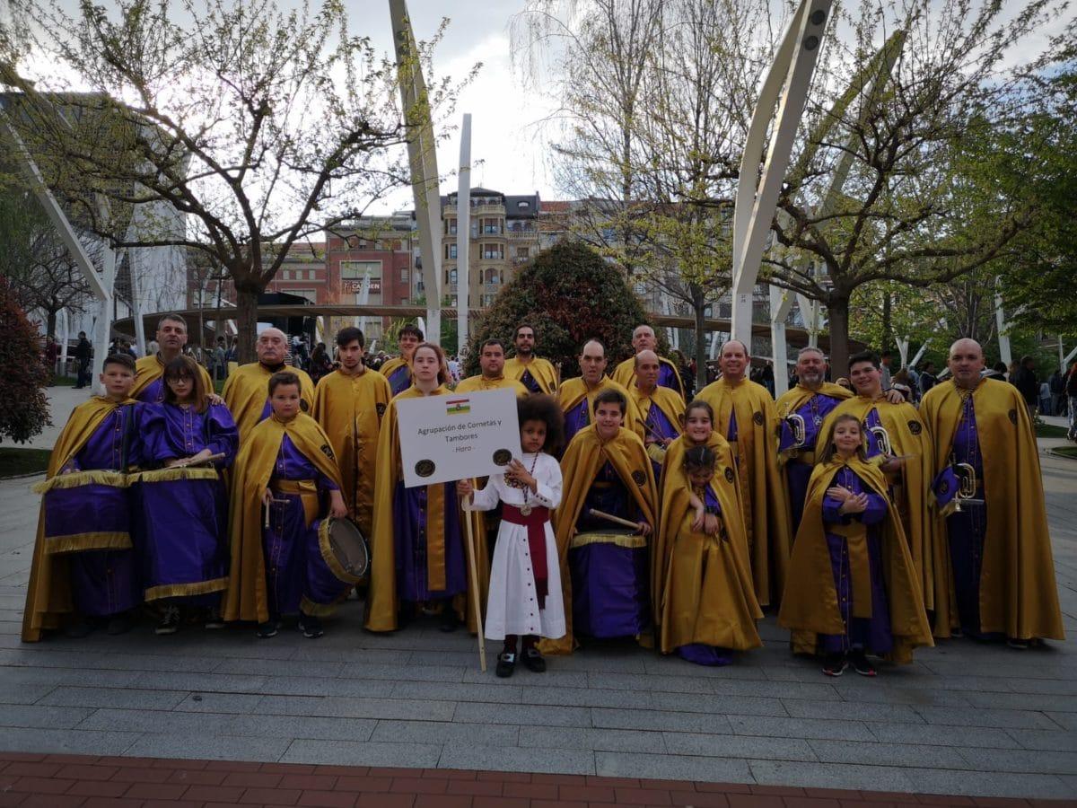 Las imágenes de la participación de la Agrupación de Cornetas y Tambores de Haro en la Exaltación de Clarines y Tambores de Bilbao 8