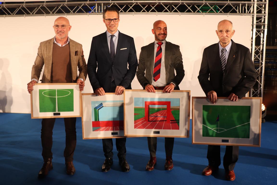 Las imágenes de la representación jarrera en la Gala del Deporte Riojano 1