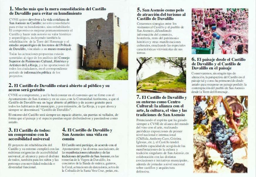 """Los planes de CVNE para el Castillo de Davalillo: """"Abierto al público y de acceso gratuito"""" 2"""