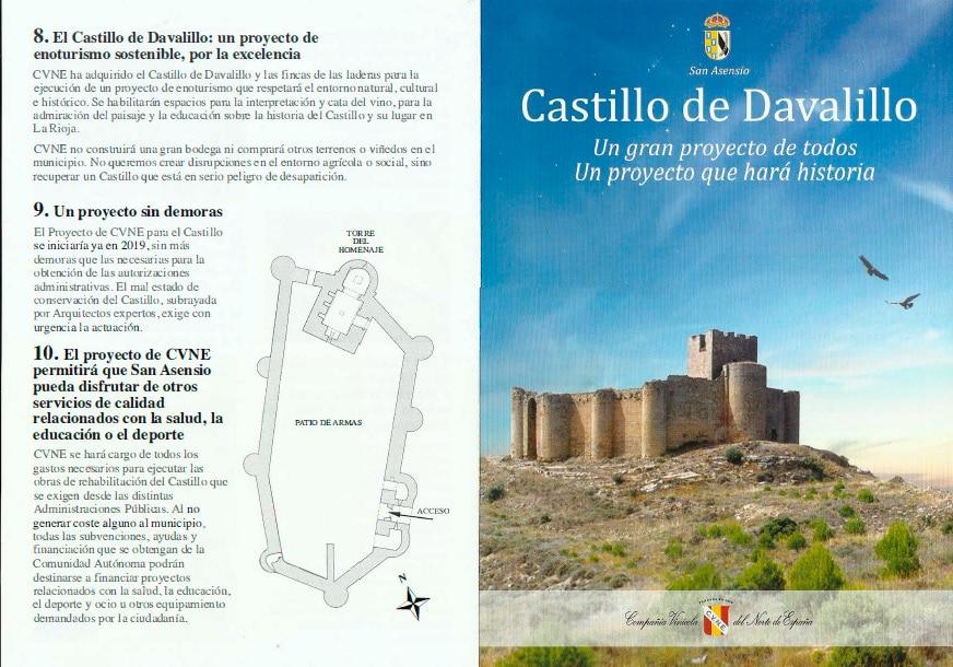 """Los planes de CVNE para el Castillo de Davalillo: """"Abierto al público y de acceso gratuito"""" 1"""