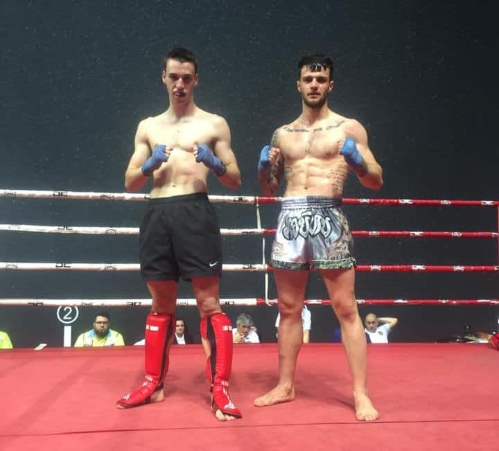 Mikel Sánchez se corona campeón de Euskadi de Kickboxing en Bilbao 2
