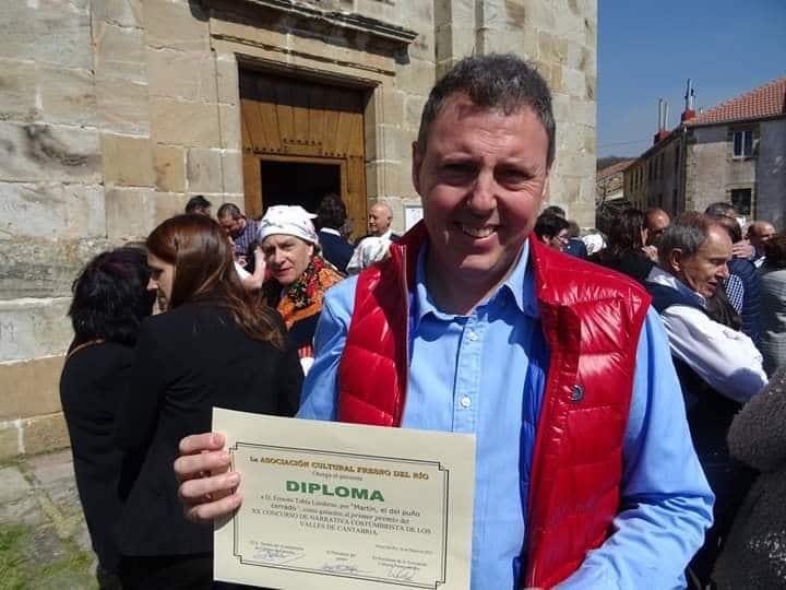Otro premio más para el jarrero Ernesto Tubía 2