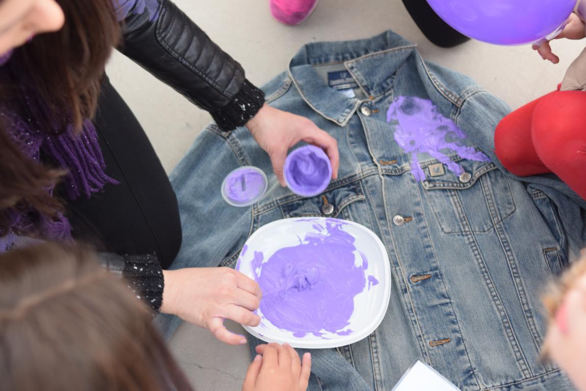 Talleres de sensibilización con niños y niñas en El Mazo 6