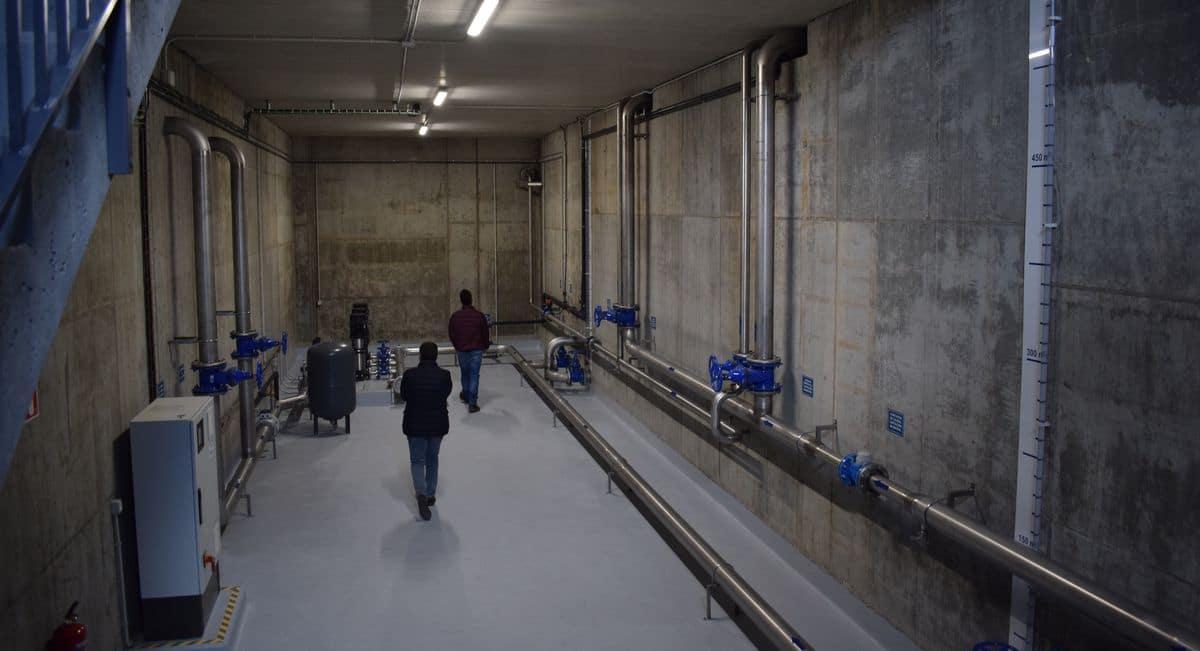 Un depósito de agua potable 2.0 para Anguciana 4