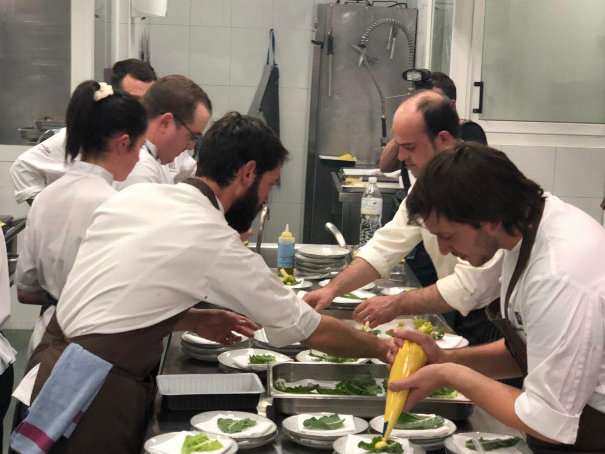 """Un festín de cocina """"sin hostias"""" en La Vieja Bodega 3"""
