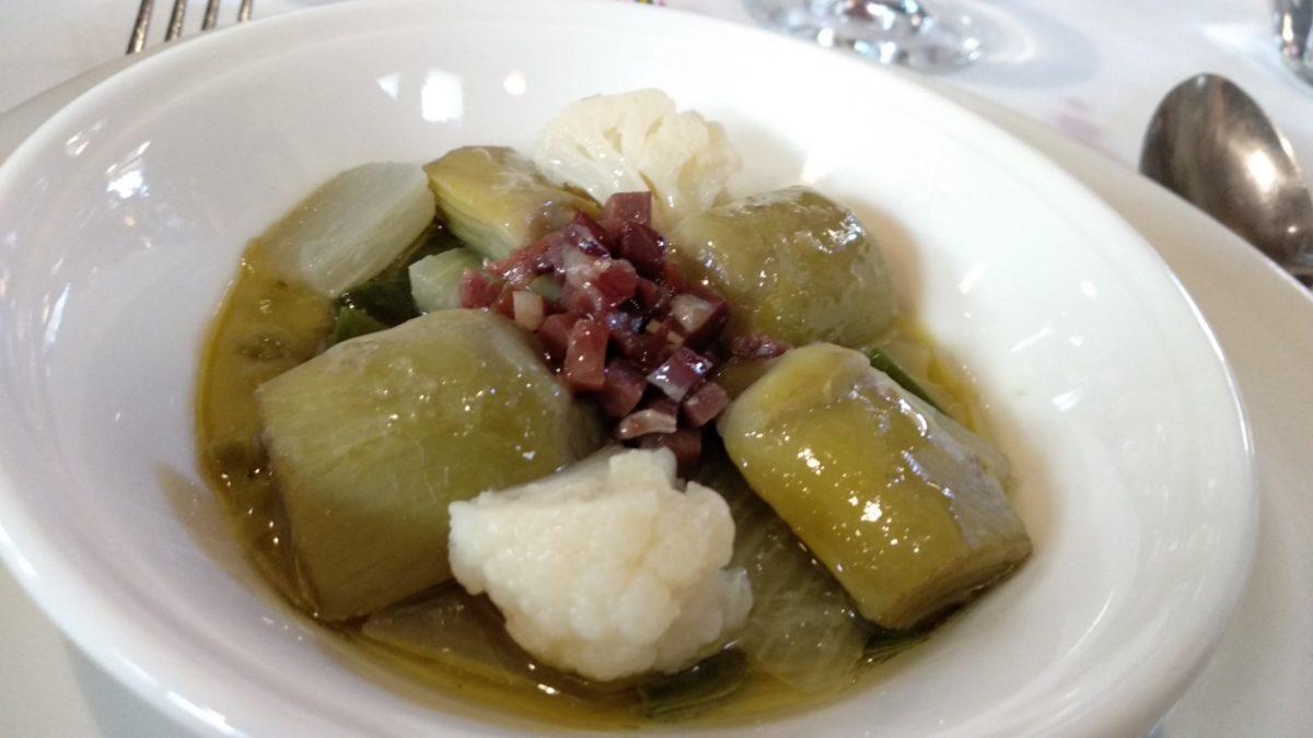 """Un festín de cocina """"sin hostias"""" en La Vieja Bodega 6"""