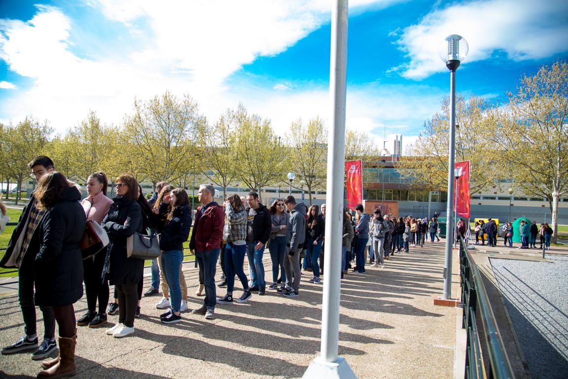 400 futuros estudiantes participan en las jornadas de puertas abiertas de la UR 1