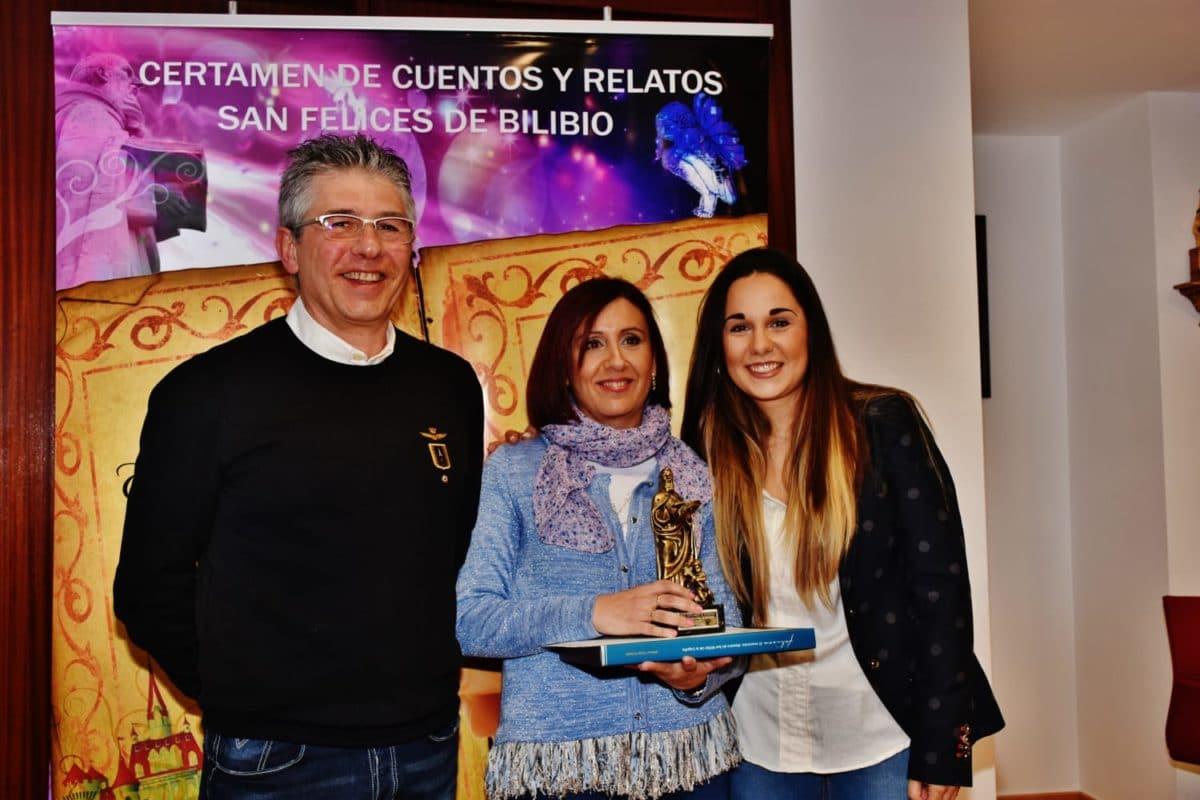 Beatriz Ugalde repite como ganadora del Certamen de Cuentos y Relatos de San Felices 1