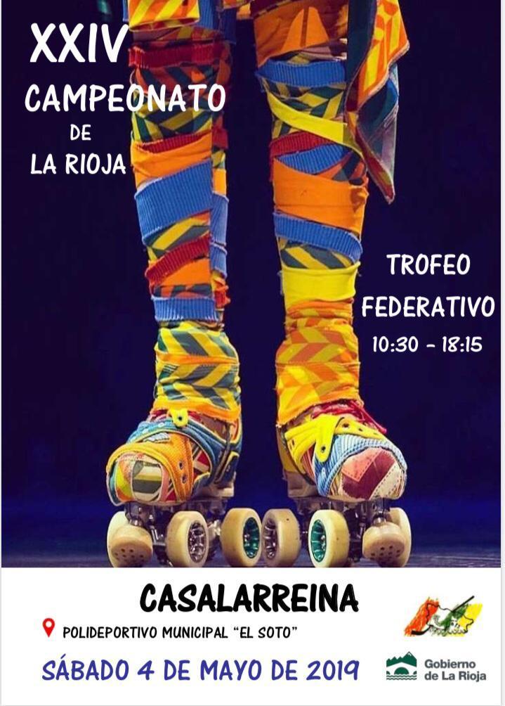 Casalarreina vivirá este sábado el Campeonato de La Rioja de Patinaje Artístico 1
