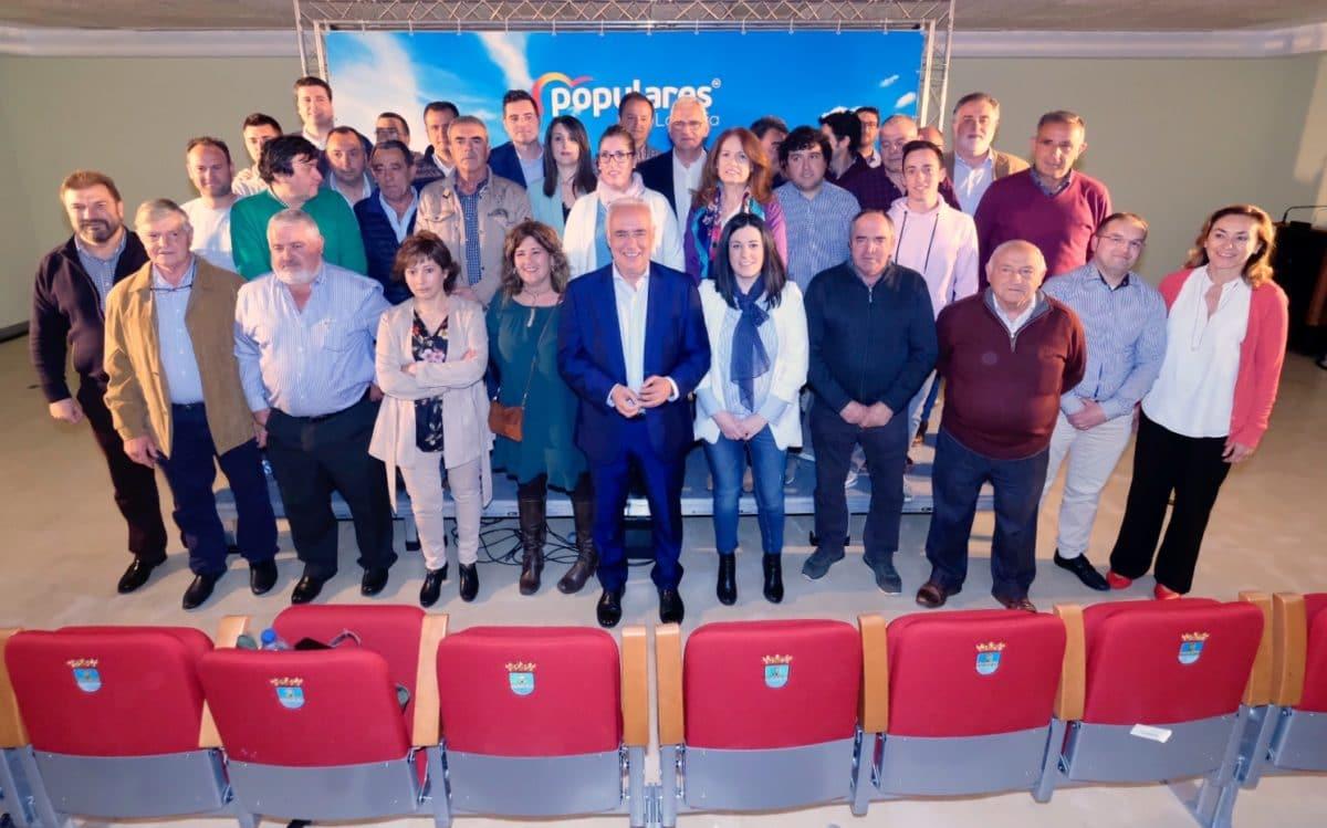 Ceniceros presenta oficialmente en Najerafórum la candidatura de Sergio Díez a la Alcaldía de Nájera 1