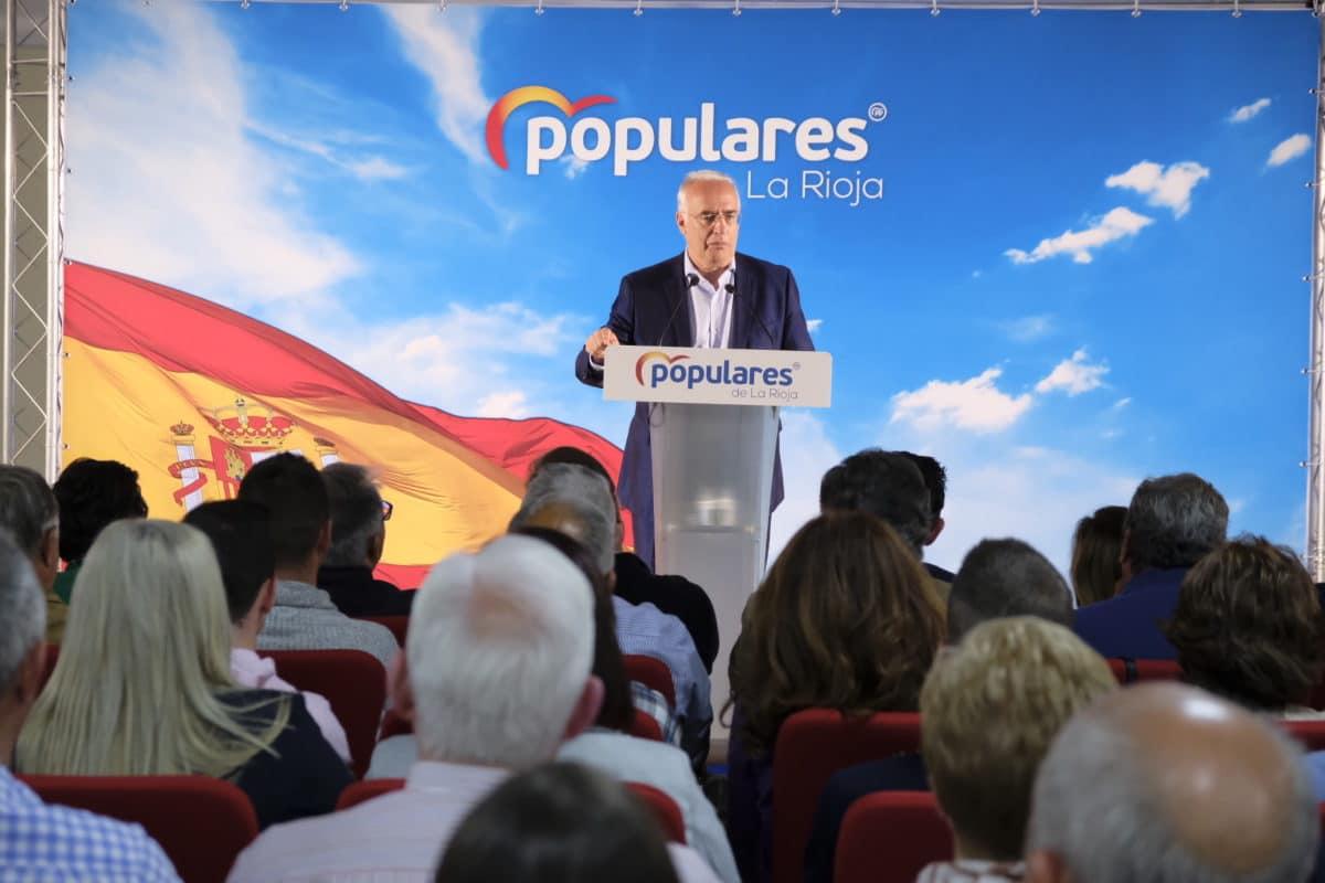 Ceniceros presenta oficialmente en Najerafórum la candidatura de Sergio Díez a la Alcaldía de Nájera 2