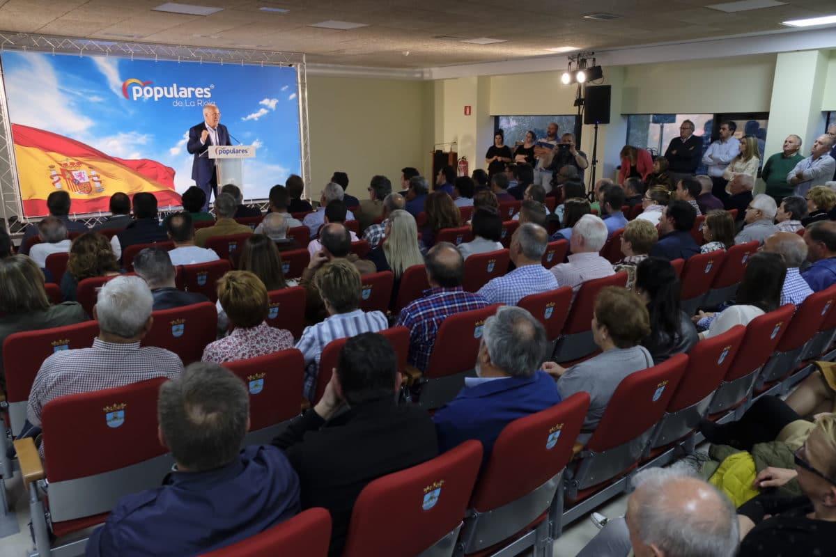 Ceniceros presenta oficialmente en Najerafórum la candidatura de Sergio Díez a la Alcaldía de Nájera 3