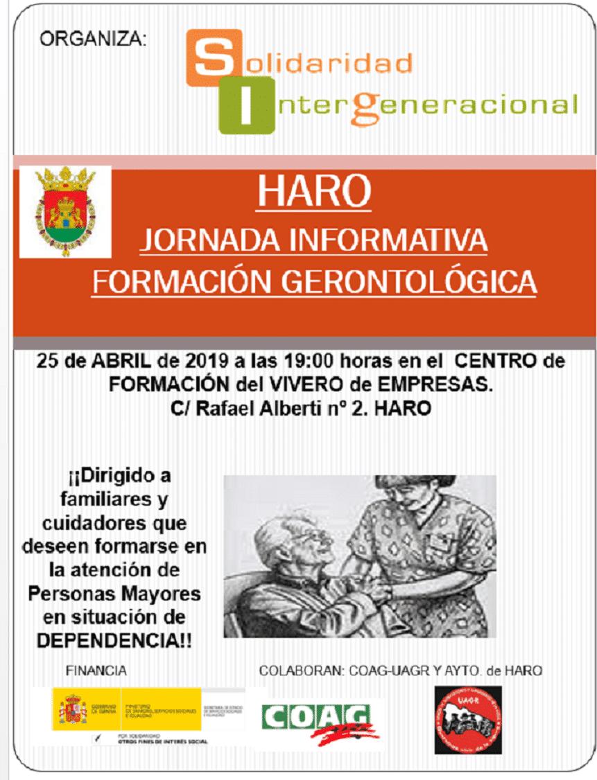 Curso de atención gerontológica en el Vivero de Empresas de Haro 2