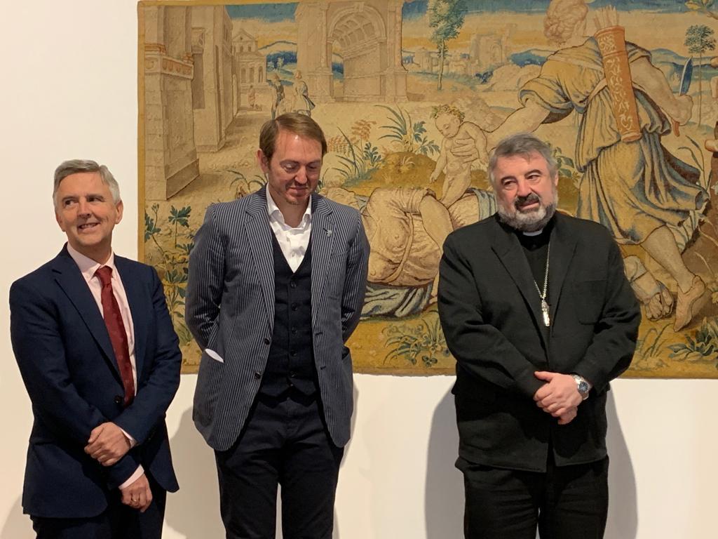 El convento de San Francisco de Santo Domingo acoge la exposición 'Religión y Vino' por el Año Jubilar calceatense 2