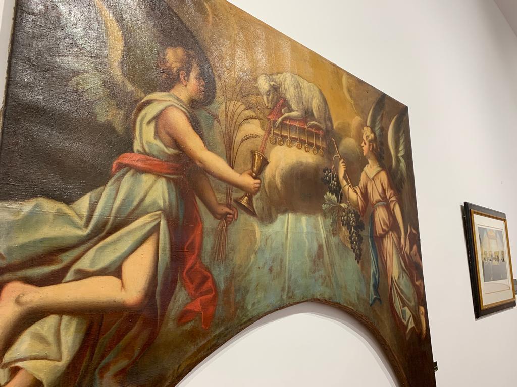 El convento de San Francisco de Santo Domingo acoge la exposición 'Religión y Vino' por el Año Jubilar calceatense 3