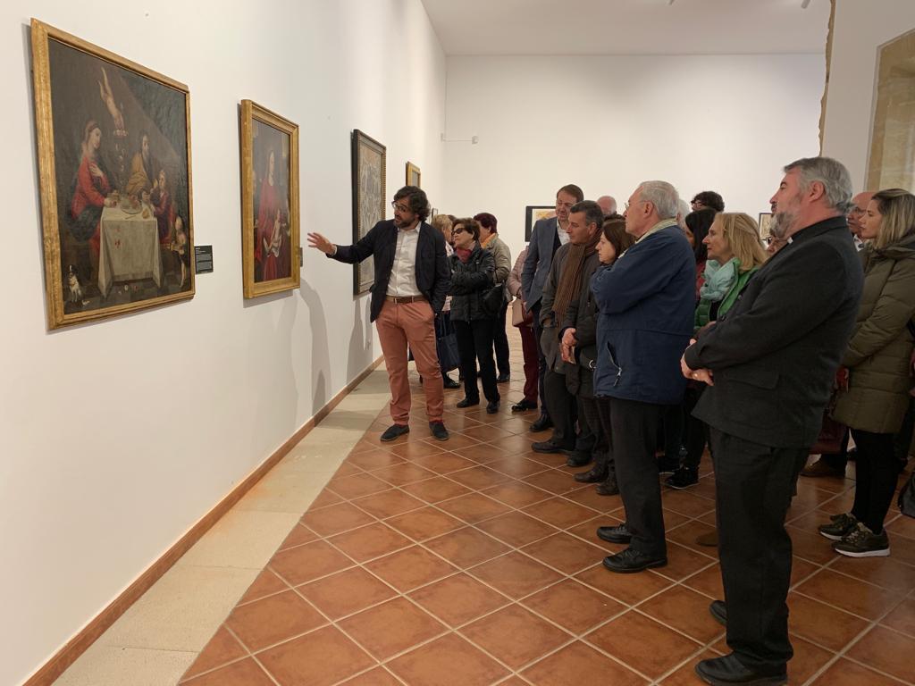 El convento de San Francisco de Santo Domingo acoge la exposición 'Religión y Vino' por el Año Jubilar calceatense 1