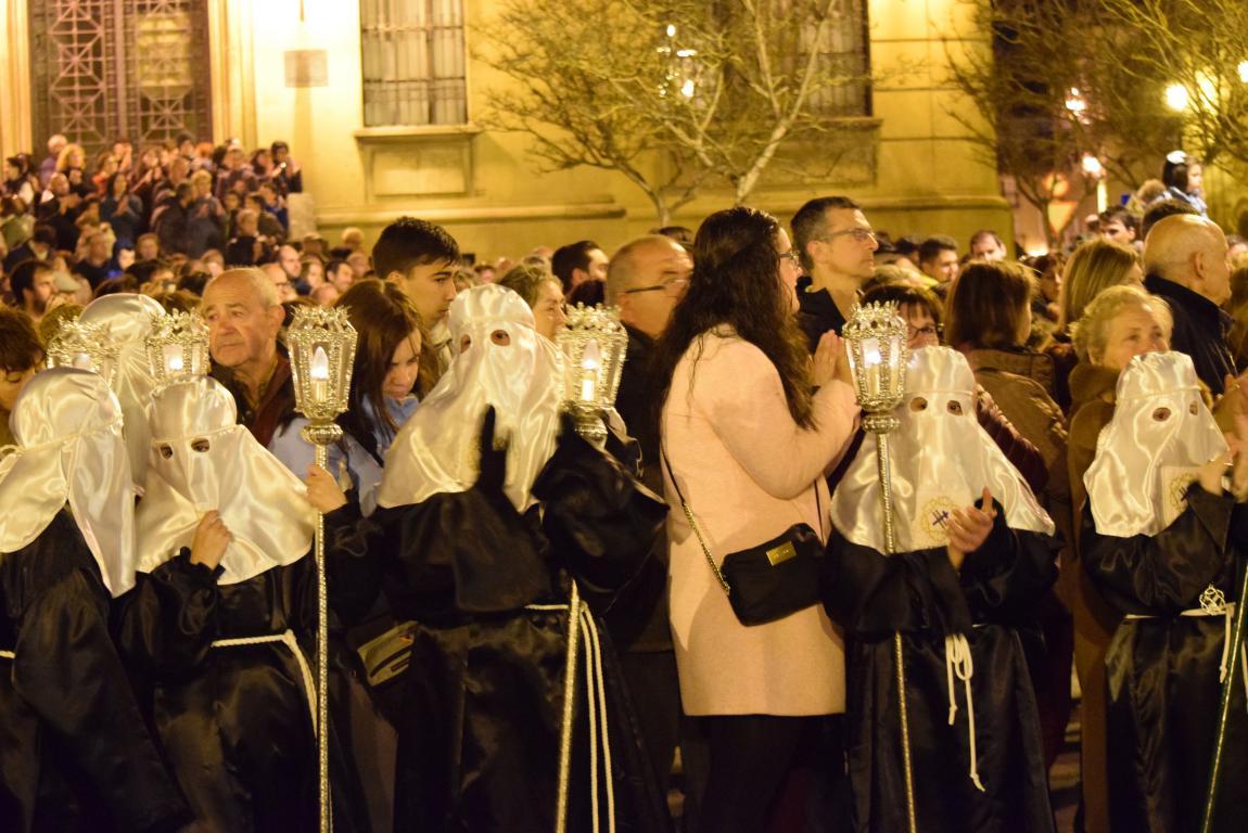 El Encuentro conmueve en la noche del Miércoles Santo en Haro 14