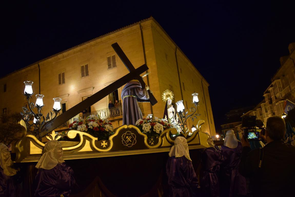 El Encuentro conmueve en la noche del Miércoles Santo en Haro 5