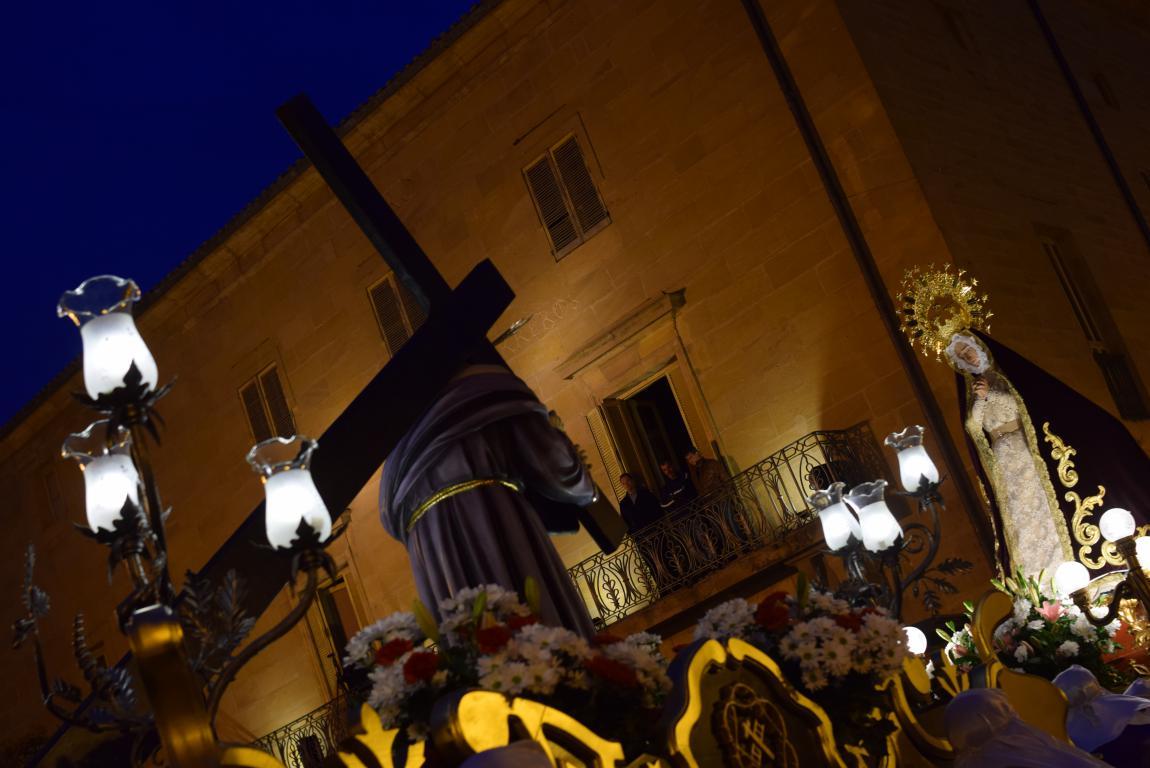 El Encuentro conmueve en la noche del Miércoles Santo en Haro 42