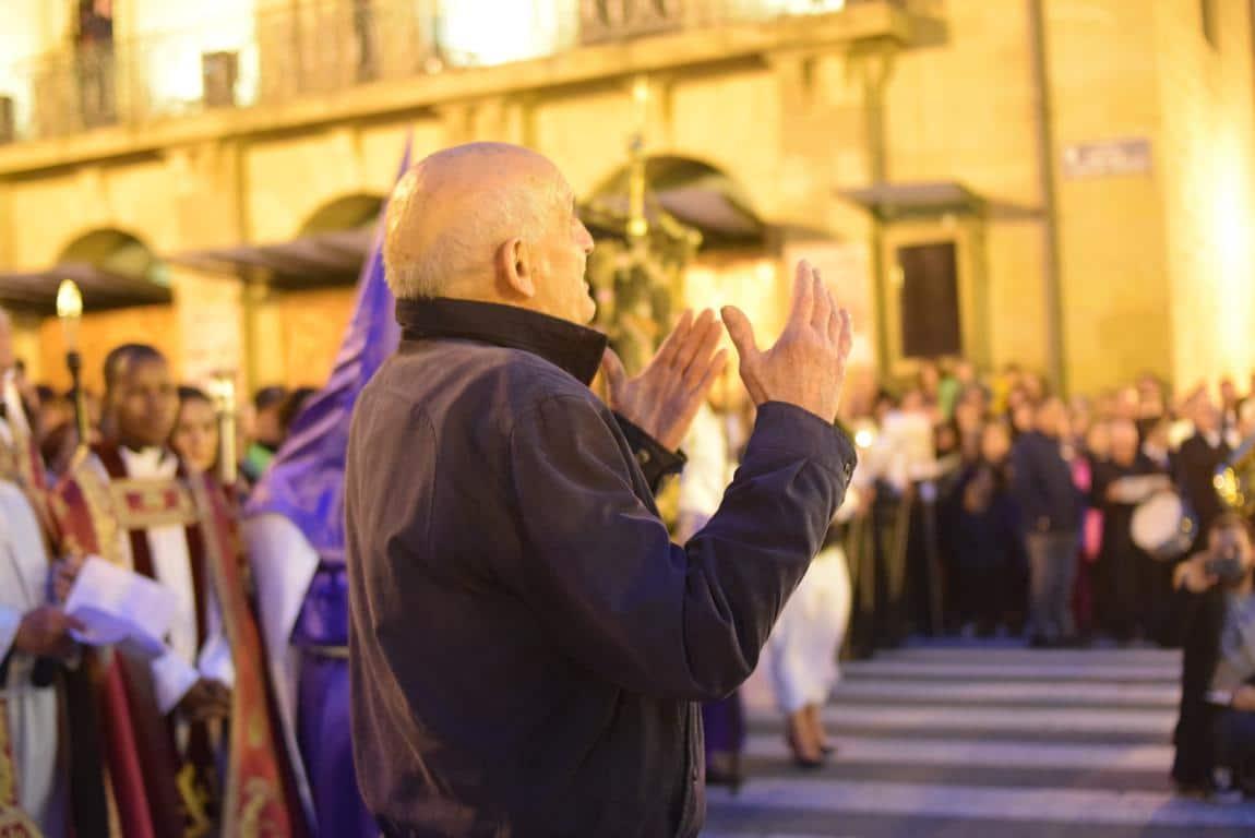 El Encuentro conmueve en la noche del Miércoles Santo en Haro 44