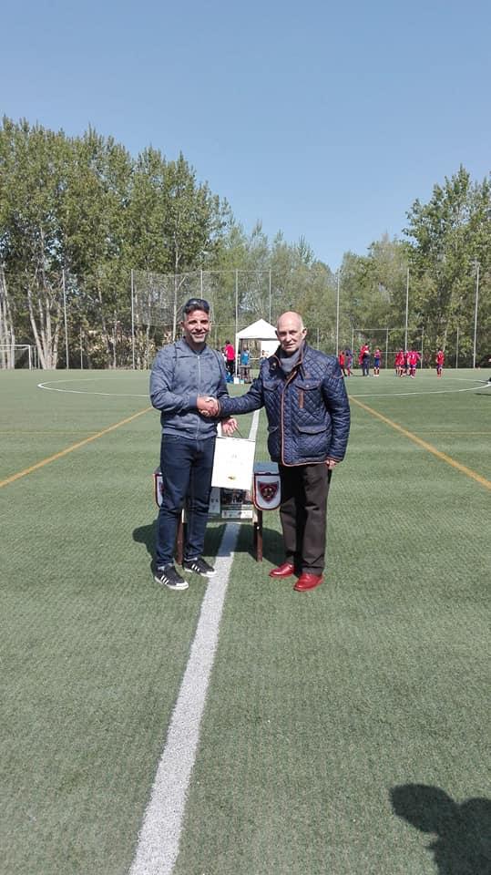 El Haro Sport Club alza el trofeo del torneo cadete Haro Capital del Rioja 11