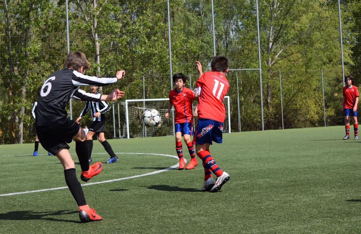 El Haro Sport Club, campeón del torneo alevín Haro Capital del Rioja 18
