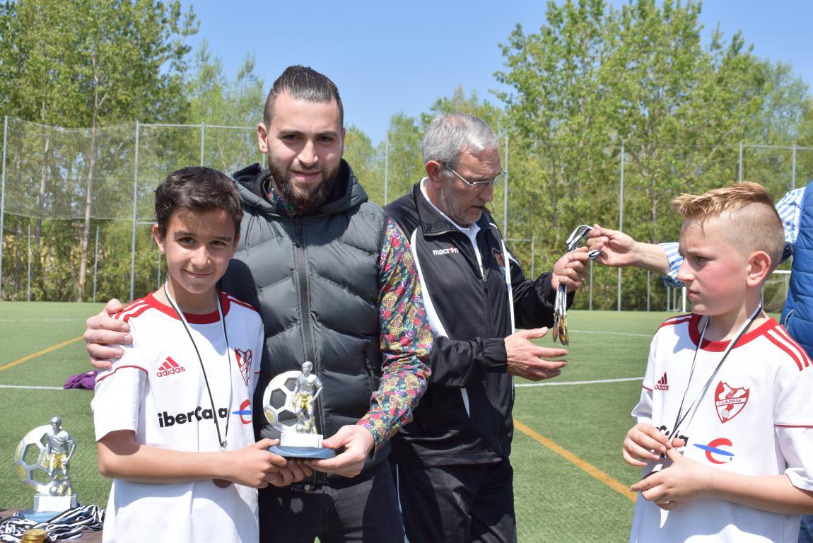 El Haro Sport Club, campeón del torneo alevín Haro Capital del Rioja 2
