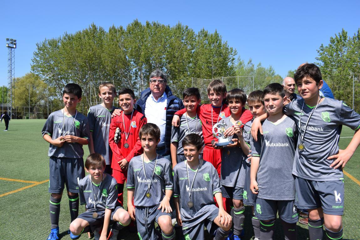 El Haro Sport Club, campeón del torneo alevín Haro Capital del Rioja 3