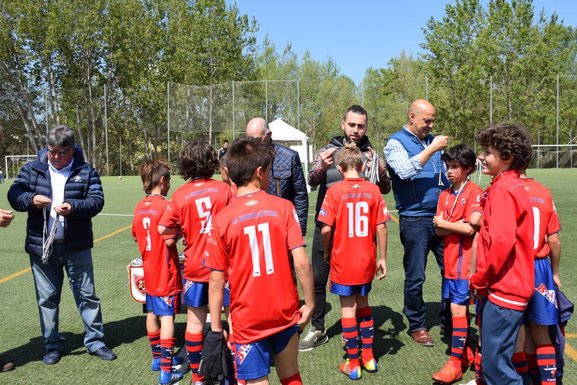 El Haro Sport Club, campeón del torneo alevín Haro Capital del Rioja 48