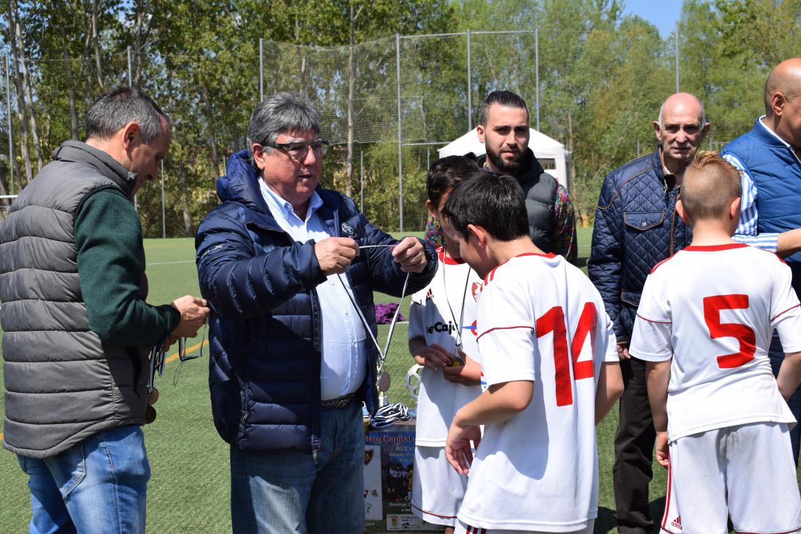 El Haro Sport Club, campeón del torneo alevín Haro Capital del Rioja 49