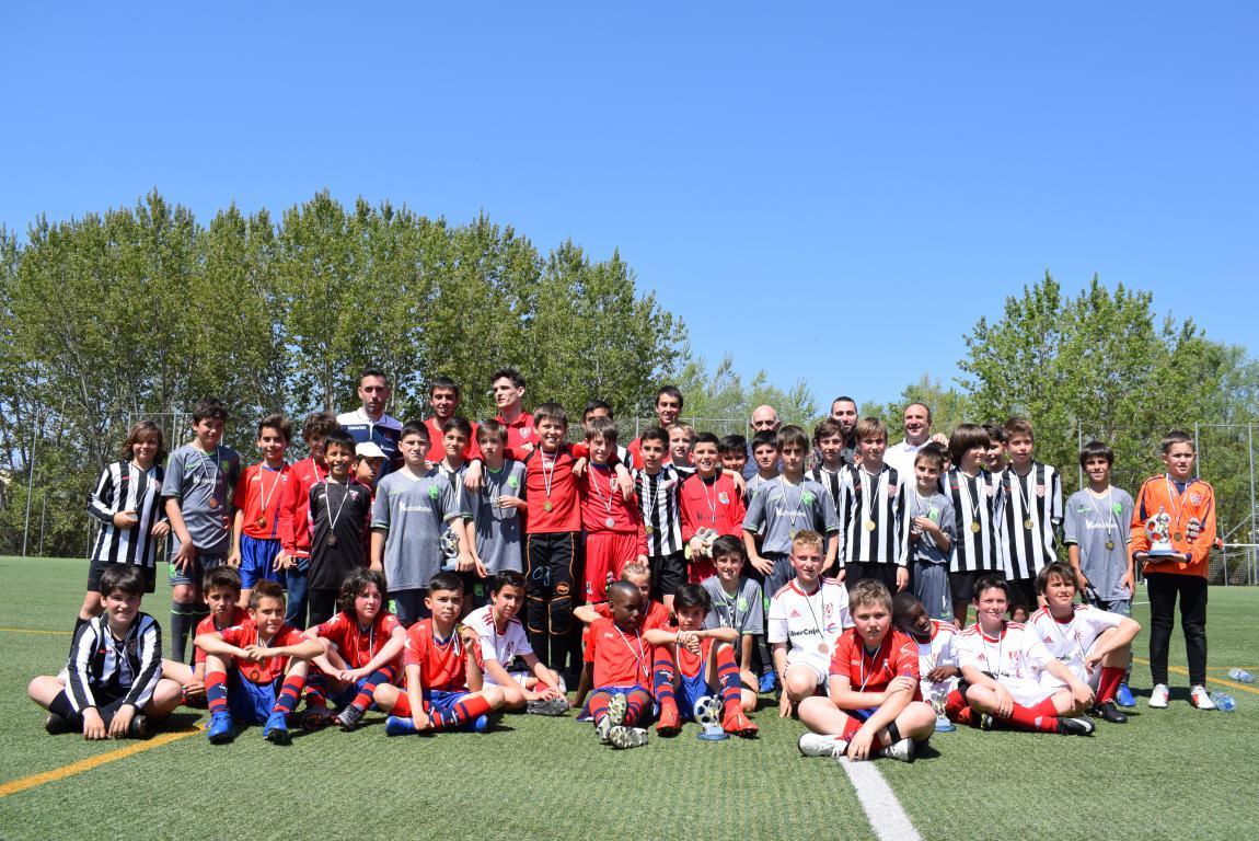 El Haro Sport Club, campeón del torneo alevín Haro Capital del Rioja 5