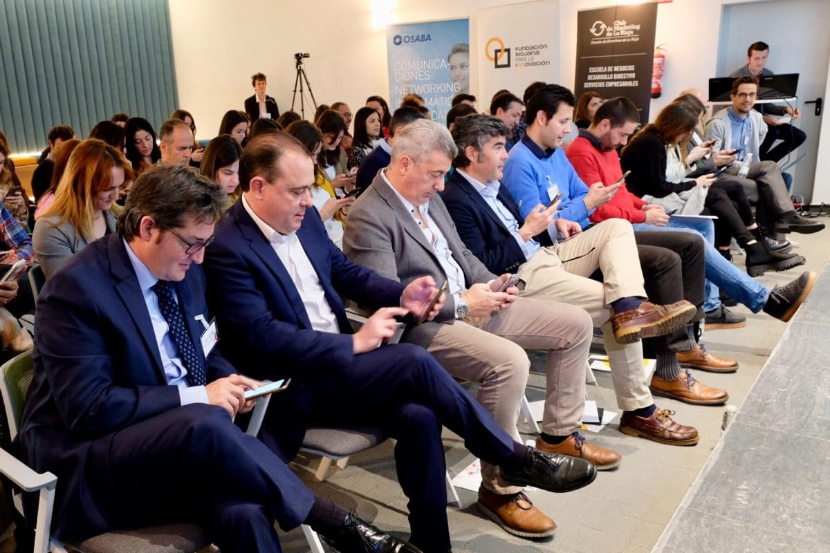 El I Foro de Marketing Digital reúne a más de 50 empresas riojanas con la misión de impulsar su competitividad 2