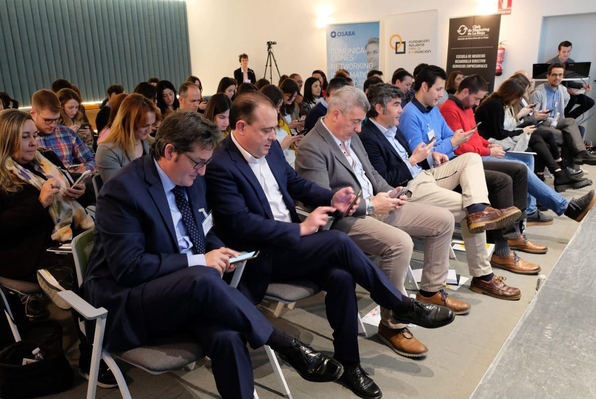 El I Foro de Marketing Digital reúne a más de 50 empresas riojanas con la misión de impulsar su competitividad 9