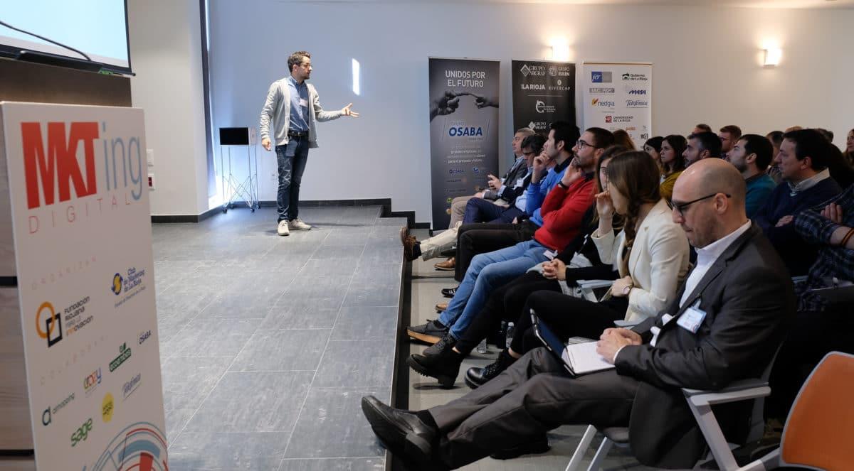 El I Foro de Marketing Digital reúne a más de 50 empresas riojanas con la misión de impulsar su competitividad 18