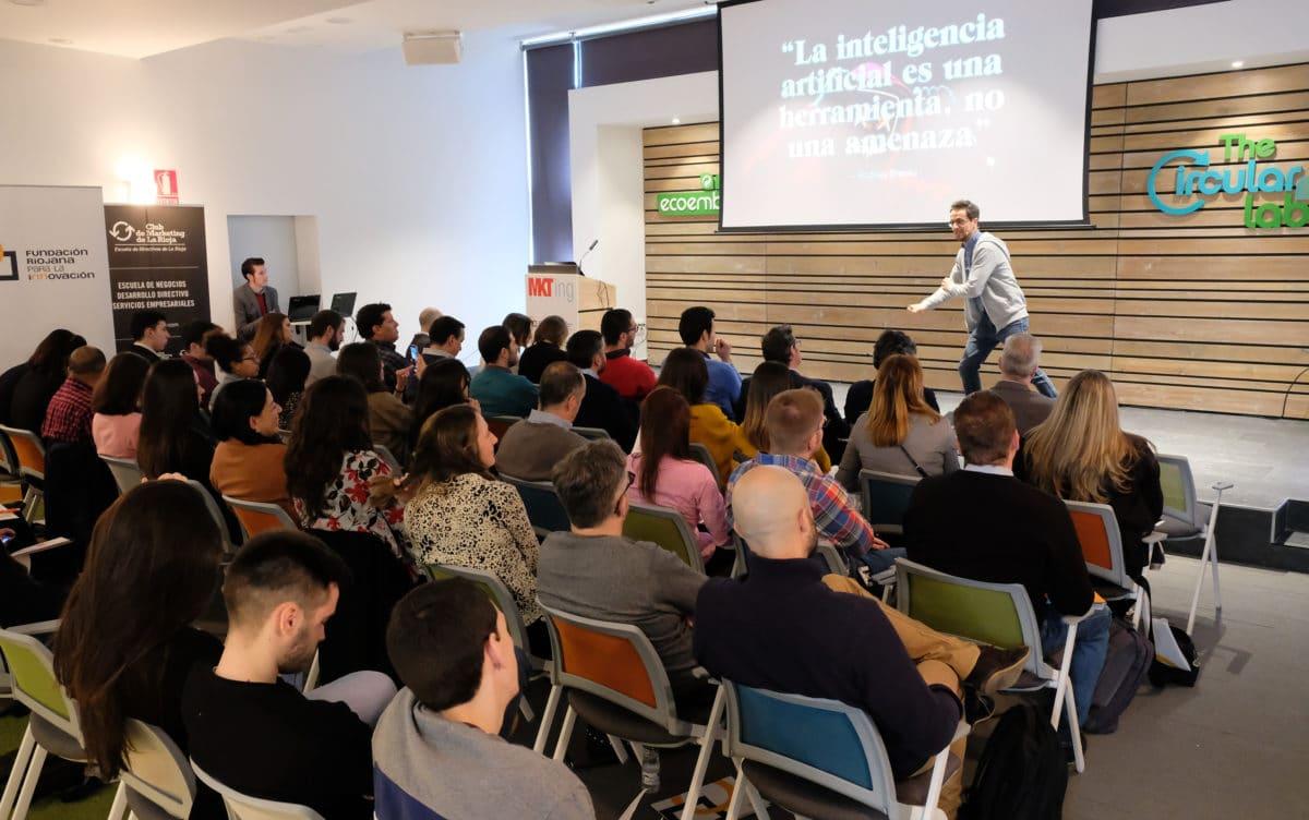 El I Foro de Marketing Digital reúne a más de 50 empresas riojanas con la misión de impulsar su competitividad 19