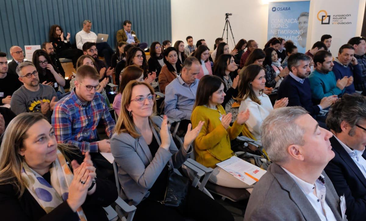 El I Foro de Marketing Digital reúne a más de 50 empresas riojanas con la misión de impulsar su competitividad 23