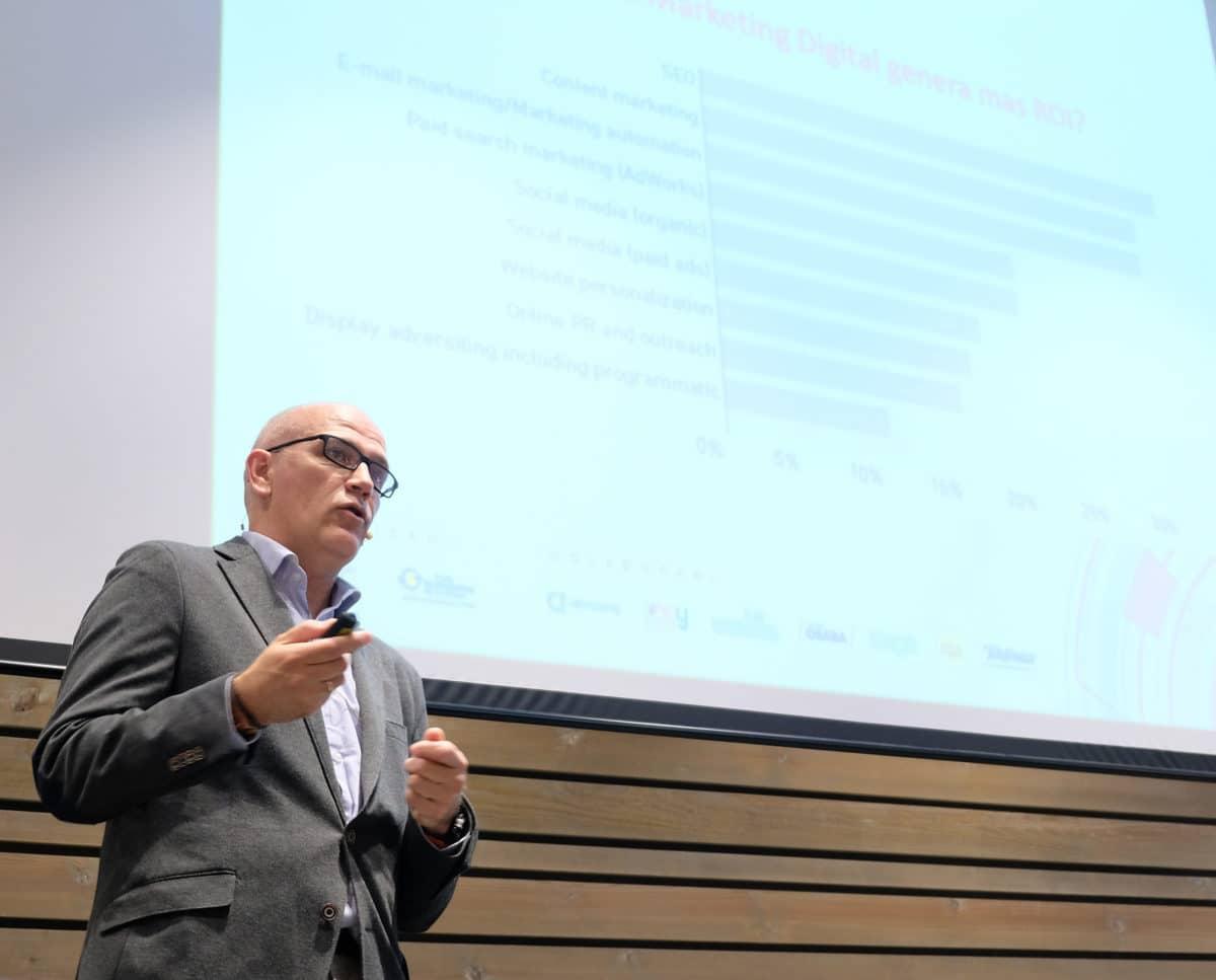 El I Foro de Marketing Digital reúne a más de 50 empresas riojanas con la misión de impulsar su competitividad 24