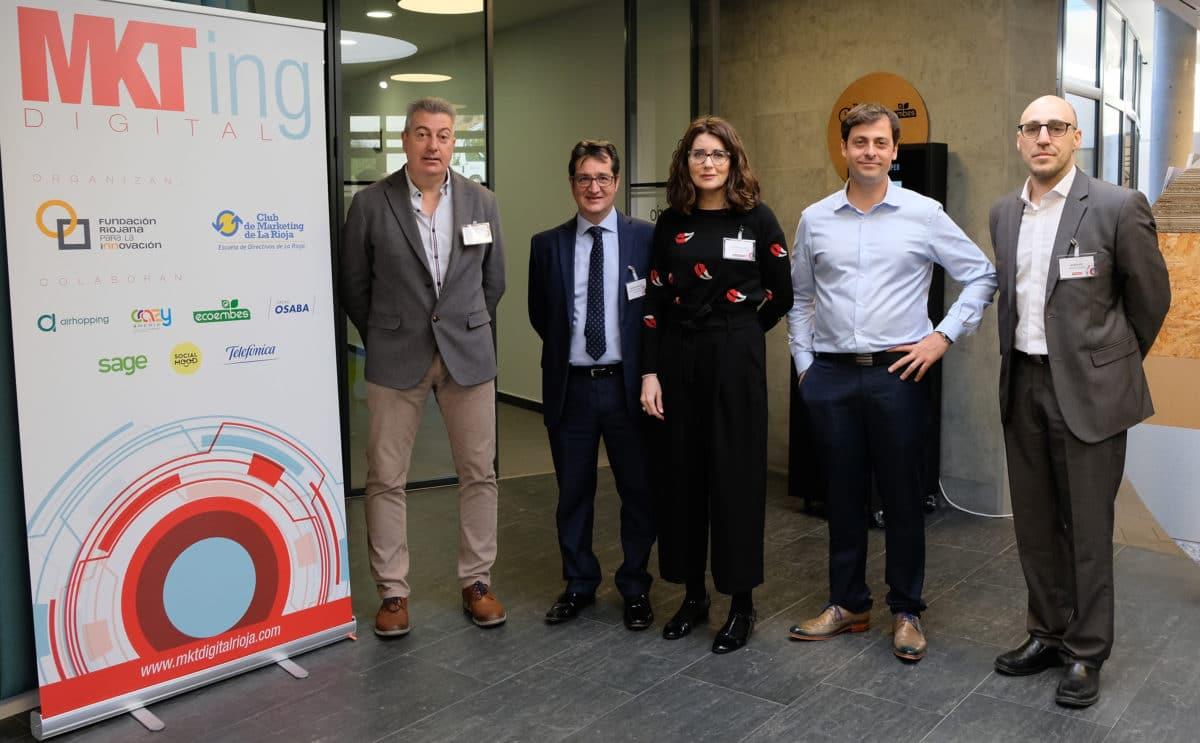El I Foro de Marketing Digital reúne a más de 50 empresas riojanas con la misión de impulsar su competitividad 5
