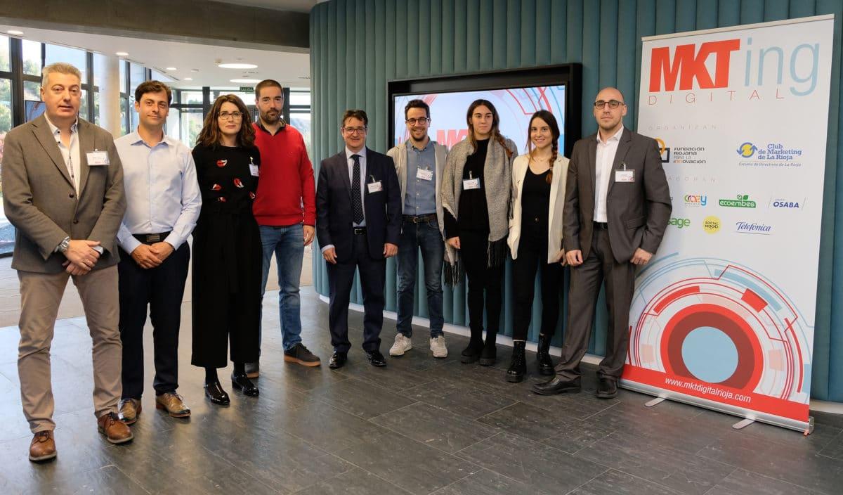 El I Foro de Marketing Digital reúne a más de 50 empresas riojanas con la misión de impulsar su competitividad 6
