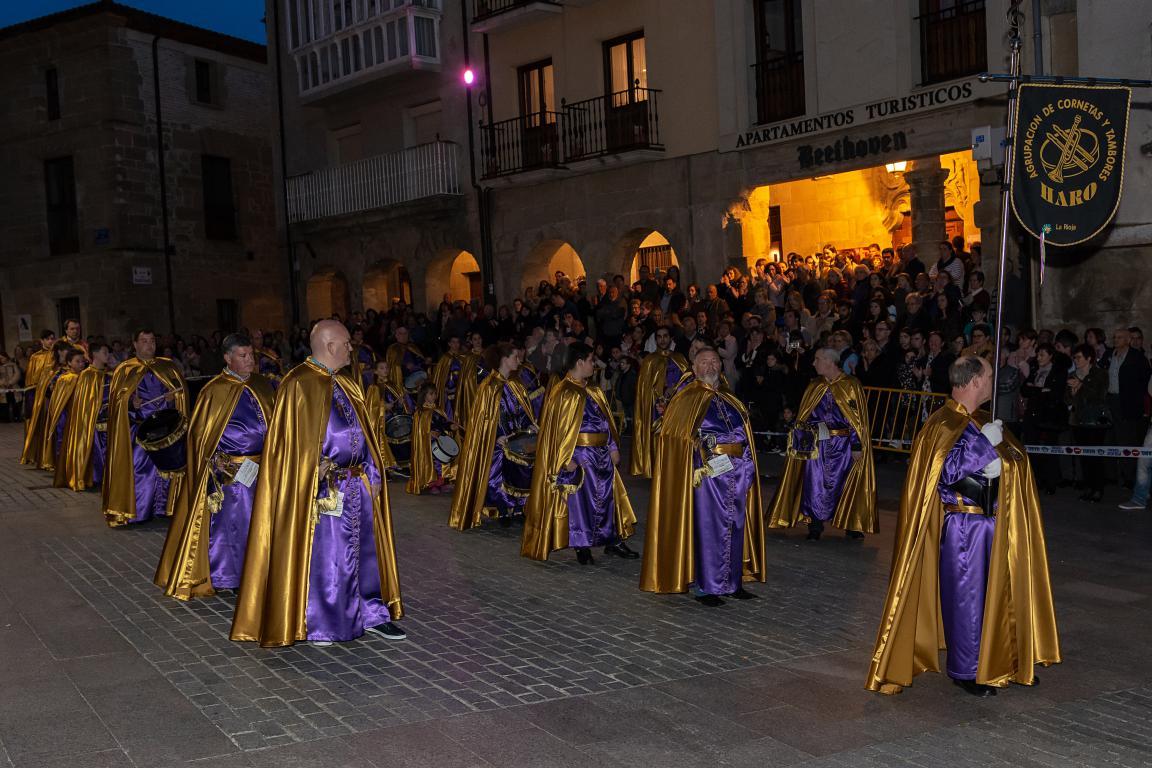 El pregón de la Coral y el Traslado del Cristo Yacente meten a Haro de lleno en Semana Santa 12