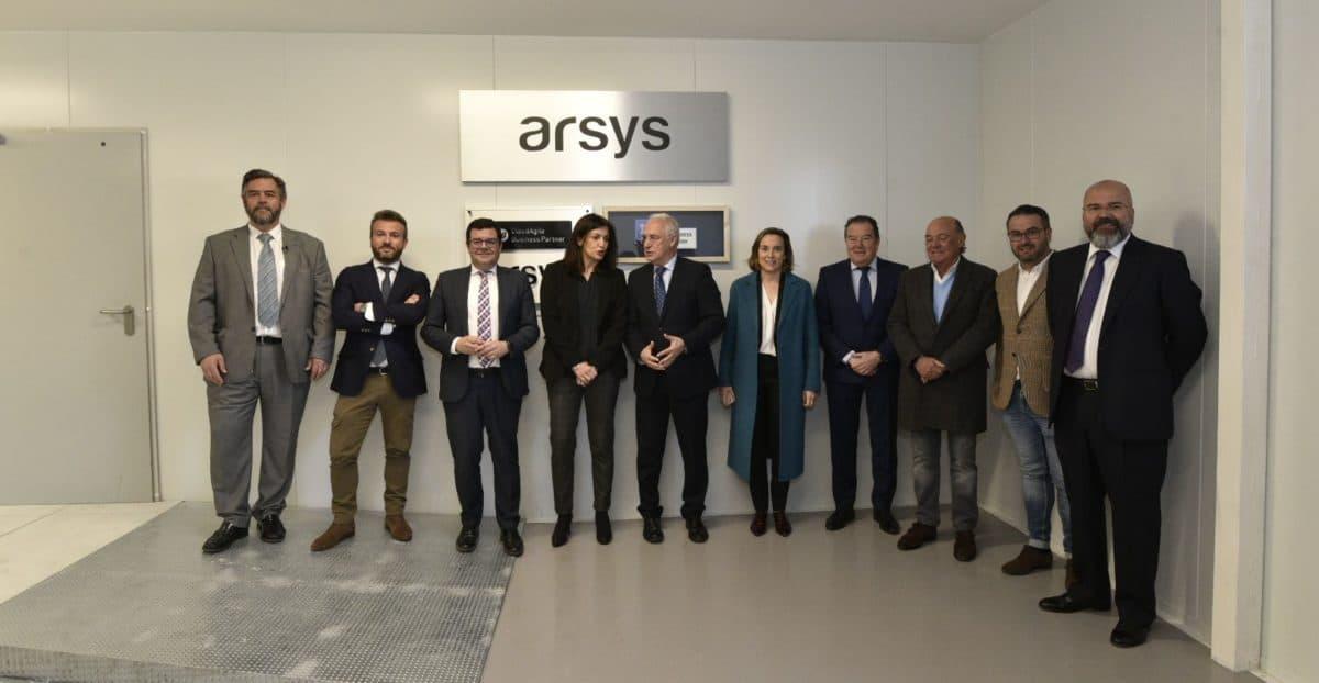 Inauguradas las nuevas instalaciones del Centro de Datos de Arsys 1