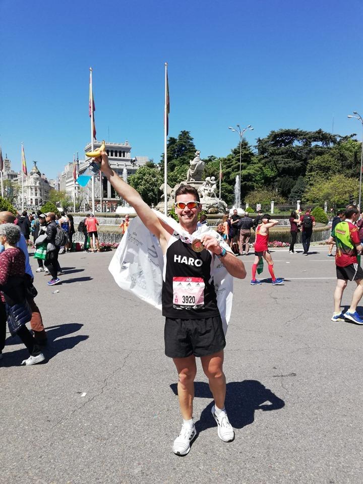 """La expedición jarrera en el Maratón de Madrid: """"Una experiencia brutal"""" 3"""
