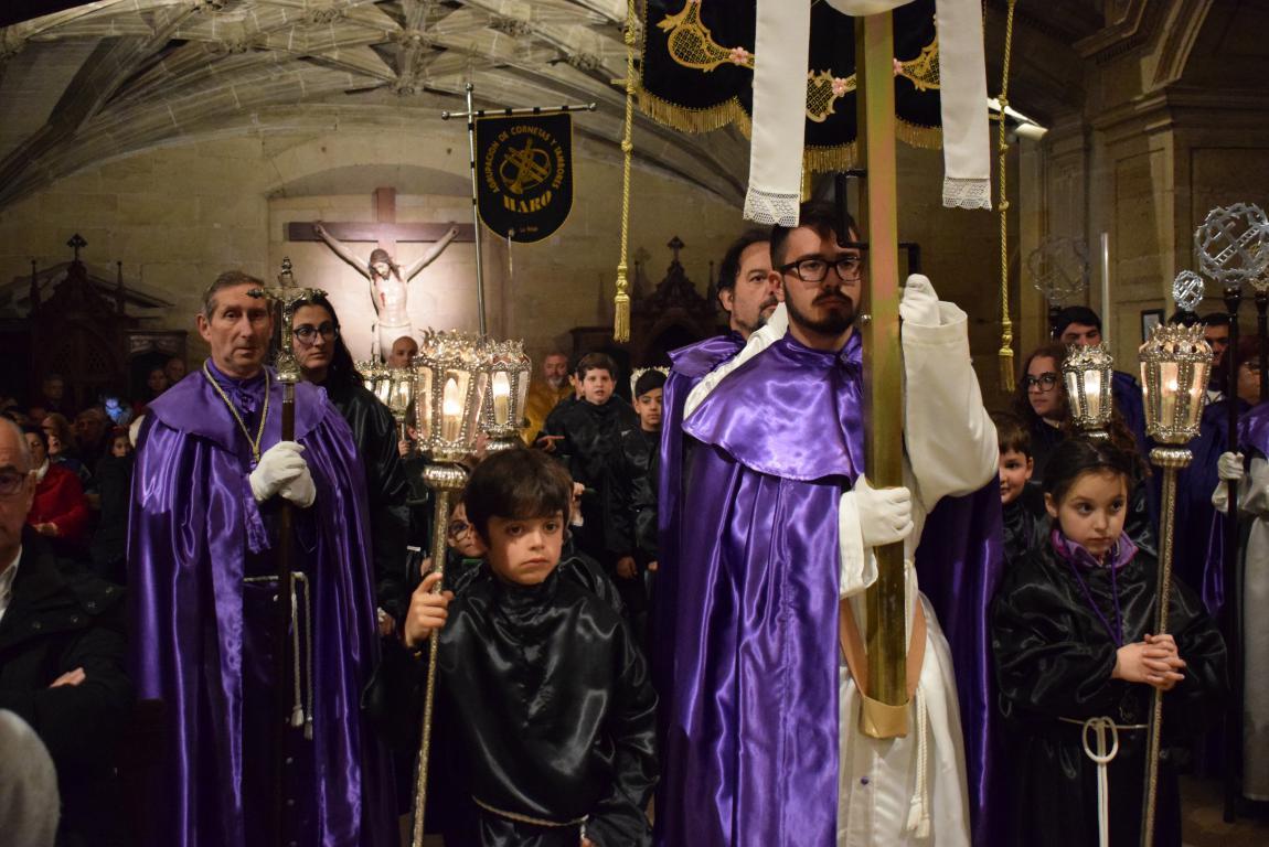 La lluvia obliga a trasladar la procesión de Jueves Santo a la parroquia 18