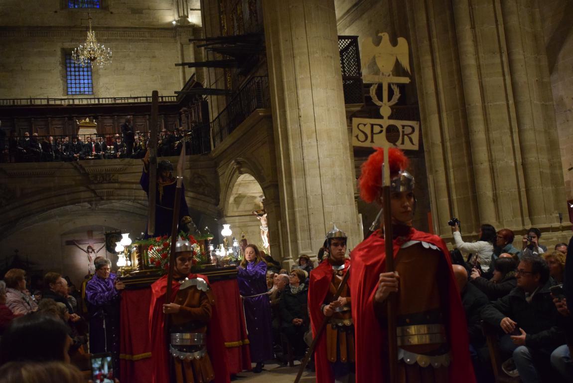 La lluvia obliga a trasladar la procesión de Jueves Santo a la parroquia 13