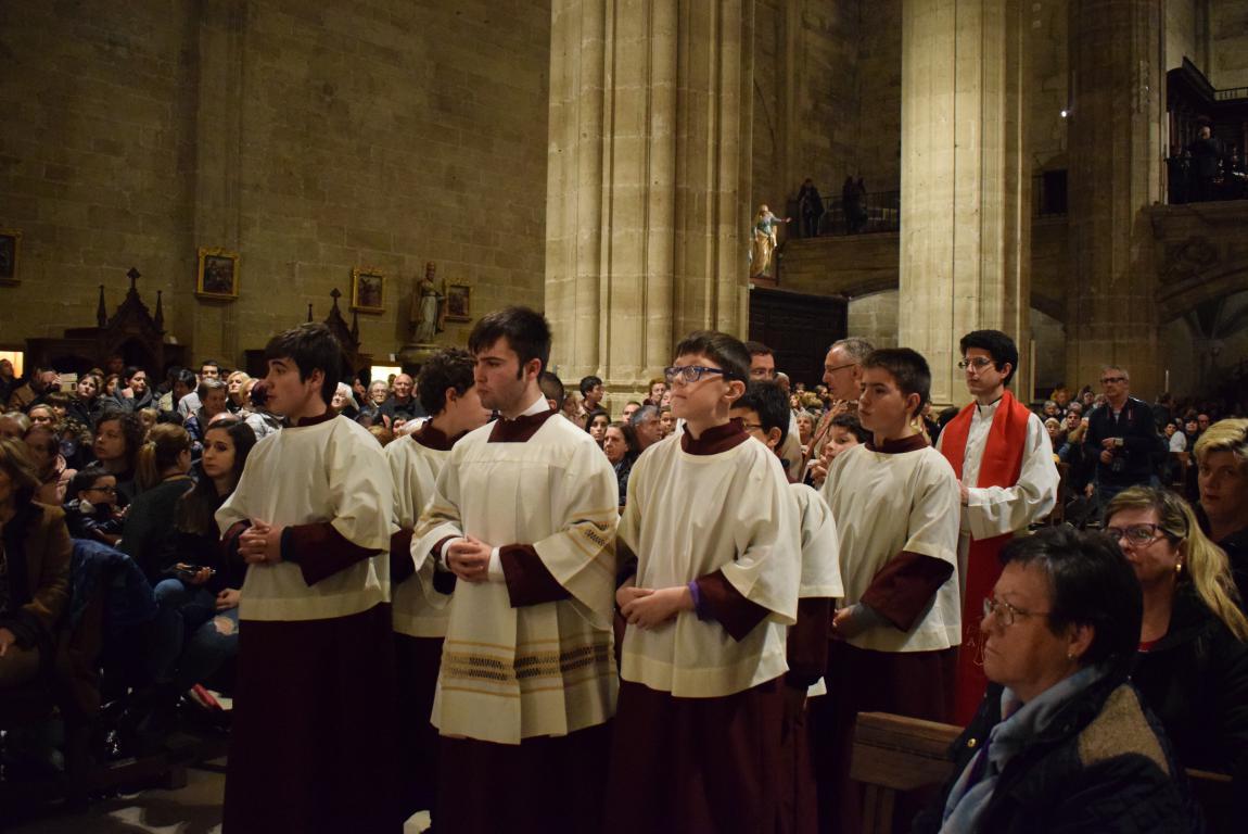La lluvia obliga a trasladar la procesión de Jueves Santo a la parroquia 7