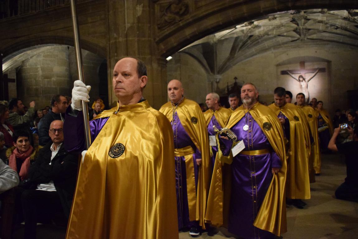 La lluvia obliga a trasladar la procesión de Jueves Santo a la parroquia 4