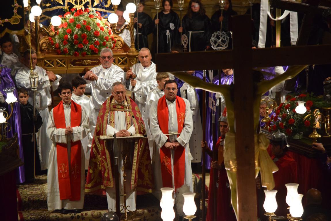 La lluvia obliga a trasladar la procesión de Jueves Santo a la parroquia 9