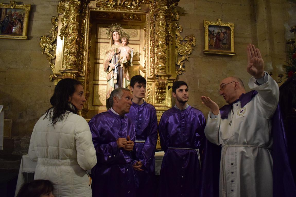 La lluvia obliga a trasladar la procesión de Jueves Santo a la parroquia 22